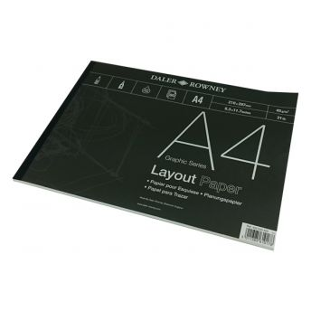 Series A Layout A4 Pad 80 x 40gsm Sheets