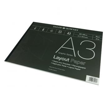 Series A Layout A3 Pad 80 x 40gsm Sheets