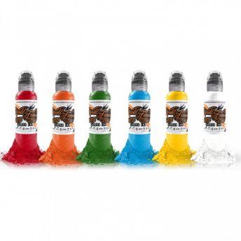 W F Simple Colour SET 6 x 1oz