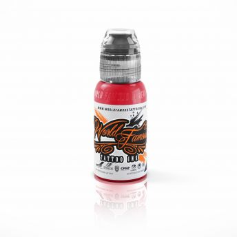 W F United Ink Red (Pastel) 2oz