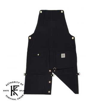 Split Leg Black Shop Apron