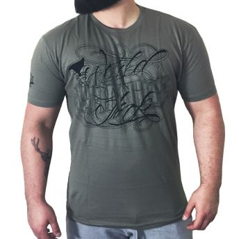 W Famous Lettering T Shirt by Jimmy Small