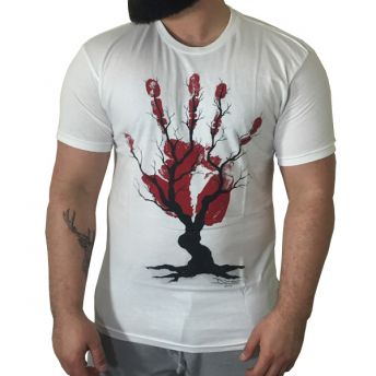 W Famous Tree of Nerves T Shirt by Dino Tomic Small