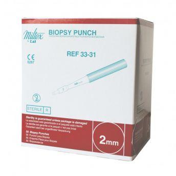 Dermal 2mm Biopsy Punch 12g (50)