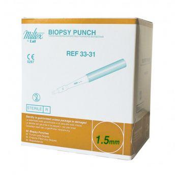 Dermal 1.5mm Biopsy Punch 14g (50)