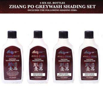 Kuro Sumi Zhang Po Greywash SET 4 x 6oz