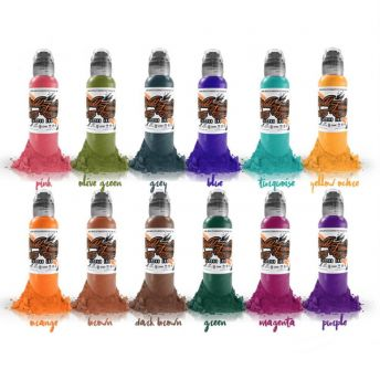 WF Watercolour (Jay Freestyle) 12 Bottle Set 1oz