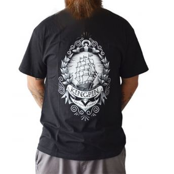 Kingpin Clipper Ship Shirt M
