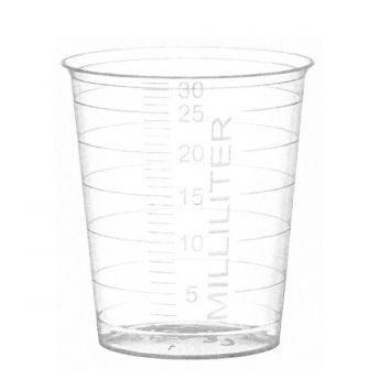 Plastic 30ml Graduated Measuring Cup 80