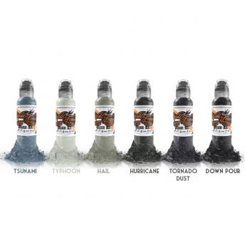 W F Poch Muted Storm 6 Bottle Set