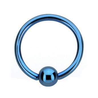 ANODISED Titanium BCR Blue (5) 1.6x10mm