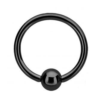 ANODISED Titanium BCR Black (5) 1.6x10mm