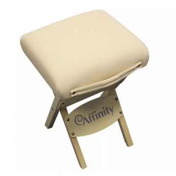 Affinity Folding Stool in Biscuit