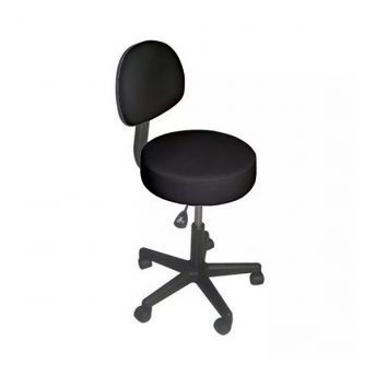Affinity Backrest Stool Black