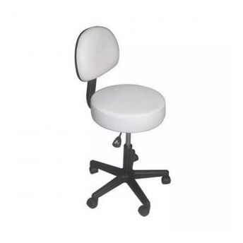 Affinity Backrest Stool White