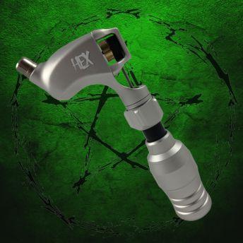 Hex Rotary Machine Metallic Silver