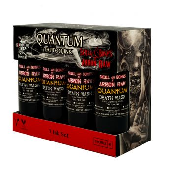Quantum Greywash (Arron Raw) SET 7 x 4oz