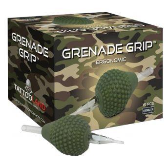 Grenade Flat Grips 38mm (15) 9F