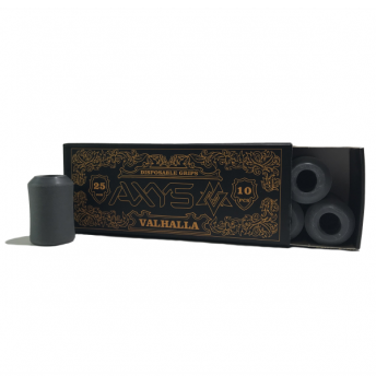 AXYS Valhalla Disposable Grey 25mm Grip 10
