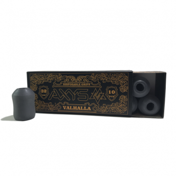 AXYS Valhalla Disposable Grey 32mm Grip 10
