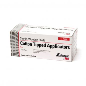 Sterile Cotton Tipped Applicators (100)