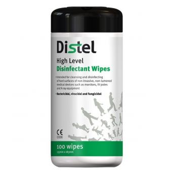 Distel Disinfectant Wipes (100)