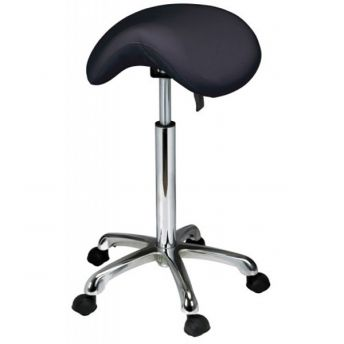 Artist Saddle Stool Black