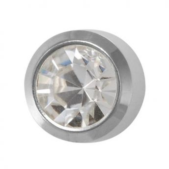 Studex Regular April Crystal Bezel Stainless (12)