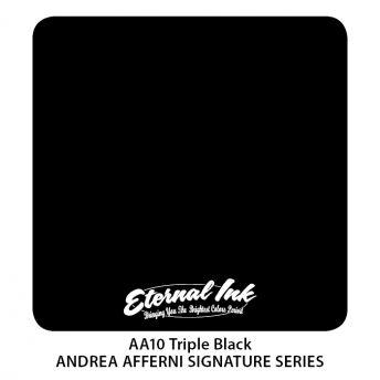 Eternal Andrea Afferni Triple Black 1oz