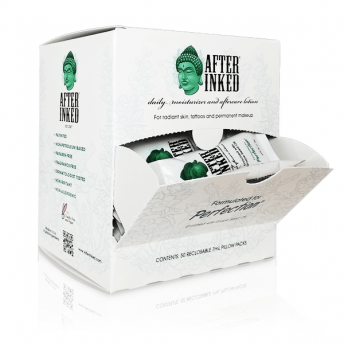 After Inked Aftercare Lotion 7ml Pillow Pack - 50 Sachets