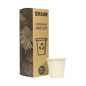 Starr Biodegradable 120ml Rinse Cups 50