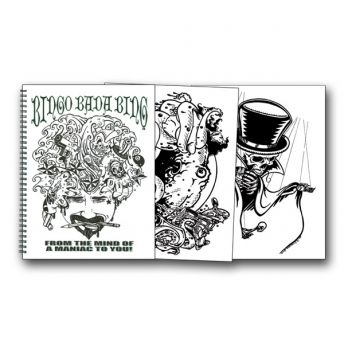 Bingo Bada Bing Sketchbook (47 pages)