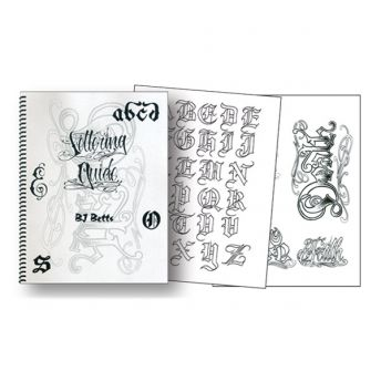 B.J. Betts - Lettering Guide (26 pages)