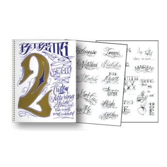 B.J. Betts - Custom Lettering Guide 2 (22 pages)
