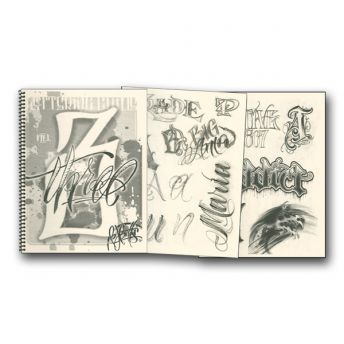 B.J. Betts Custom Lettering Guide Vol. 3 (35 pages)