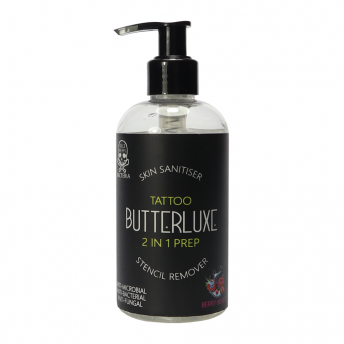 Butterluxe 2 in 1 Skin Prep 250ml - Berry Blast