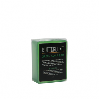 Butterluxe Tattoo Green Soap Bar 35g