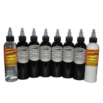 Eternal Marshall Bennett Greywash 8 Bottle 4oz Set