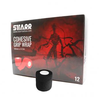 Starr Cohesive Grip Wrap BLACK 50mm