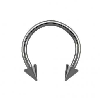 Coned Titanium Circular Barbells 1.2mm