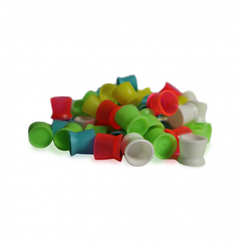 Coloured Silicone Ink Caps 300