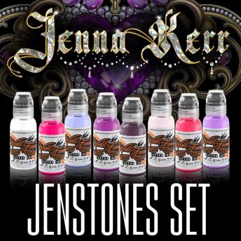 W F Jenstones (Jenna Kerr) x8 1oz Set