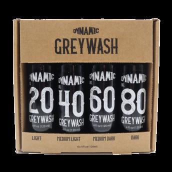Dynamic Grey Wash Set 4oz