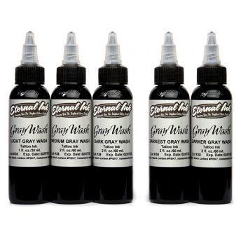 Eternal Greywash 5 Bottle 4oz Set