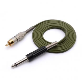 Eikon Green 6 foot RCA Cord