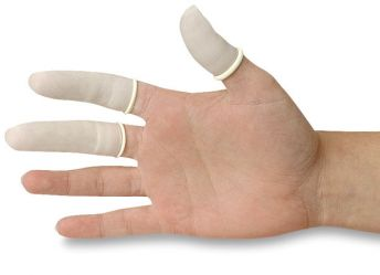 Finger Cots Latex Large(144)