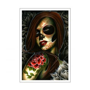Damien Friesz - Day of the Dead Print 13x19in