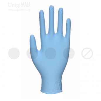 Blue Pearl Powder Free Nitrile SMALL