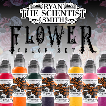 W F Flower (RYAN 'THE SCIENTIST' SMITH) X8 1OZ SET