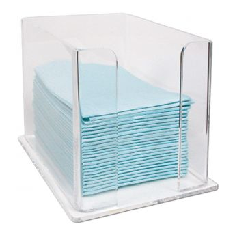 Lap Cloth Acrylic Dispensor